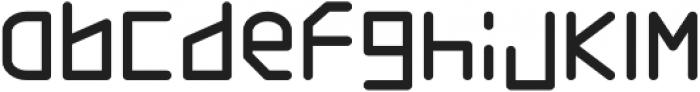 Basic Thin Line Regular otf (100) Font LOWERCASE