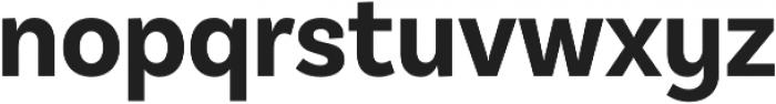 BasicSans Alt Narrow Bold otf (700) Font LOWERCASE