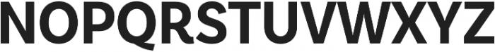 BasicSans Narrow Bold otf (700) Font UPPERCASE
