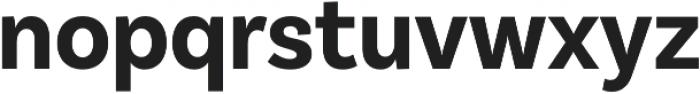 BasicSans Narrow Bold otf (700) Font LOWERCASE