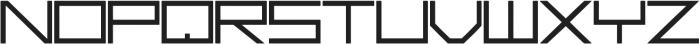 Basica Ciclonica otf (400) Font UPPERCASE