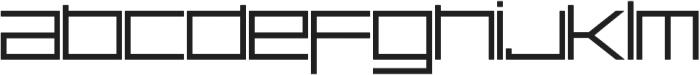 Basica Ciclonica otf (400) Font LOWERCASE