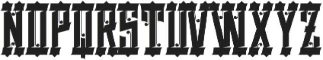 Basingstoke Regular otf (400) Font UPPERCASE