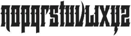 Basingstoke Regular otf (400) Font LOWERCASE