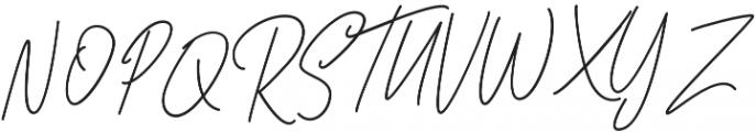 Bastela otf (400) Font UPPERCASE