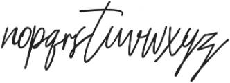 Bastela otf (400) Font LOWERCASE
