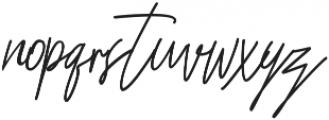 Bastela ttf (400) Font LOWERCASE