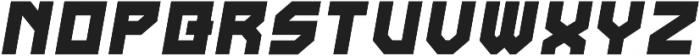 Bastille Italic otf (400) Font UPPERCASE