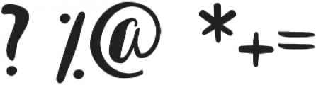 Bastina otf (400) Font OTHER CHARS