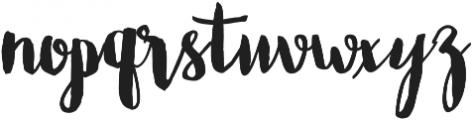 Bastina otf (400) Font LOWERCASE