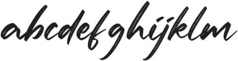 Batteny otf (400) Font LOWERCASE