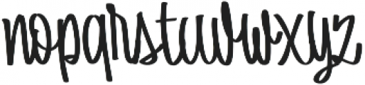 Batticuore Backslanted otf (400) Font LOWERCASE