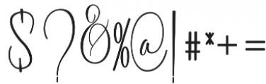 Battista otf (400) Font OTHER CHARS