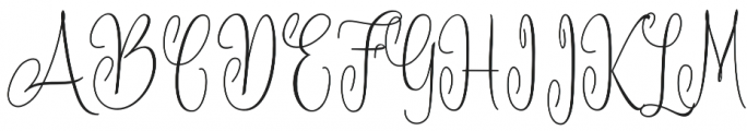 Battista otf (400) Font UPPERCASE