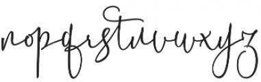 Battista otf (400) Font LOWERCASE