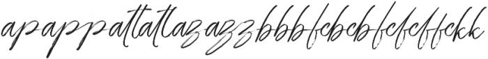 Battle Reguler otf (400) Font LOWERCASE