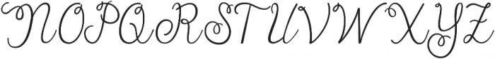 Batty Girl ttf (400) Font UPPERCASE