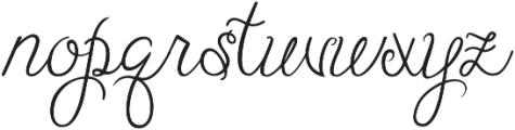 Batty Girl ttf (400) Font LOWERCASE