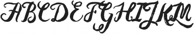 Baurbon otf (400) Font UPPERCASE