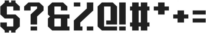Baxter's Slab ttf (400) Font OTHER CHARS