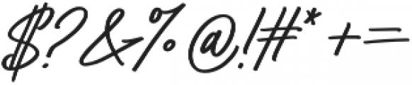 Bayshore Regular otf (400) Font OTHER CHARS