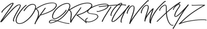 Bayshore Regular otf (400) Font UPPERCASE