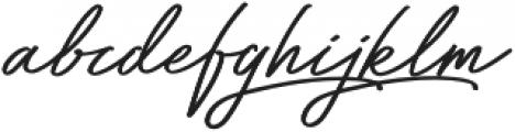 Bayshore Regular otf (400) Font LOWERCASE