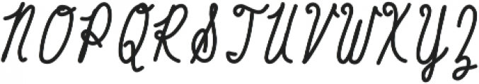 Baystyle Marker ttf (400) Font UPPERCASE