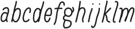 Baystyle Marker ttf (400) Font LOWERCASE