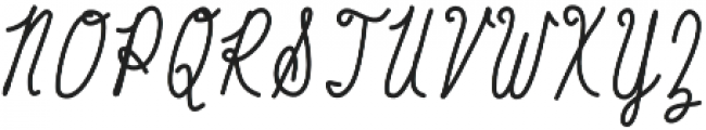 Baystyle Pen otf (400) Font UPPERCASE
