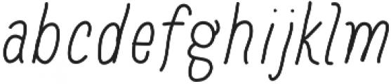 Baystyle Pen otf (400) Font LOWERCASE