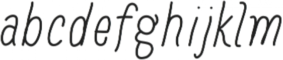 Baystyle Pen ttf (400) Font LOWERCASE