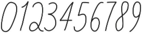 Baystyle Pencil otf (400) Font OTHER CHARS