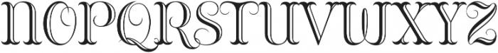 Bazaruto Engraved otf (400) Font UPPERCASE