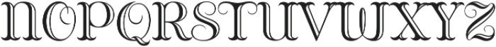 Bazaruto Engraved otf (400) Font LOWERCASE