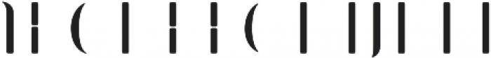 Bazaruto Iron Fill otf (400) Font LOWERCASE