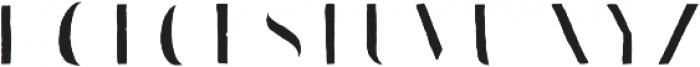 Bazaruto Iron Hand Fill otf (400) Font LOWERCASE