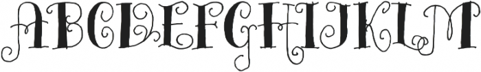 Bazaruto Iron Hand Solid otf (400) Font UPPERCASE