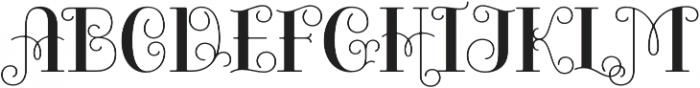 Bazaruto Iron Solid otf (400) Font UPPERCASE