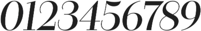 Bazaruto Text Oblique otf (400) Font OTHER CHARS