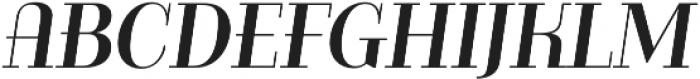 Bazaruto Text Oblique otf (400) Font LOWERCASE
