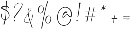 backwash otf (400) Font OTHER CHARS