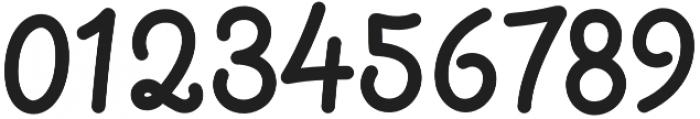 bangkey otf (400) Font OTHER CHARS