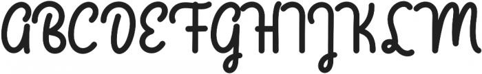 bangkey otf (400) Font UPPERCASE