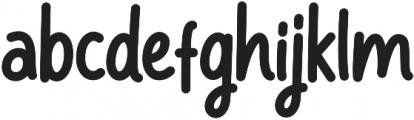 bangkey otf (400) Font LOWERCASE