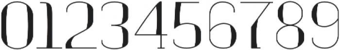 banister Light Semi Condensed Loaded otf (300) Font OTHER CHARS