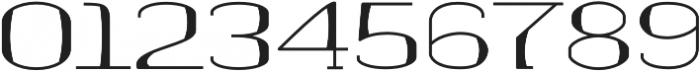 banister Regular Semi Expanded Loaded otf (400) Font OTHER CHARS