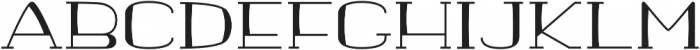 banister Regular Semi Expanded Loaded otf (400) Font UPPERCASE