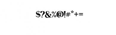 Bakojin Font Font OTHER CHARS
