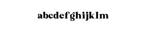 Bakojin Font Font LOWERCASE